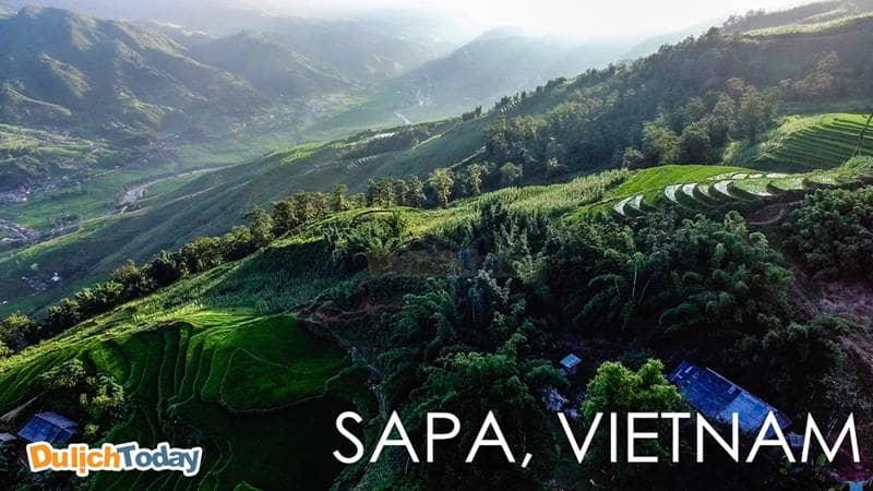 Cảnh sắc tuyệt đẹp của Sapa