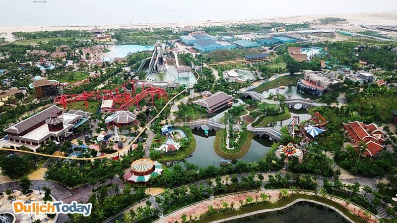 Công viên giải trí Sun World Hạ Long Park. Nguồn: Internet