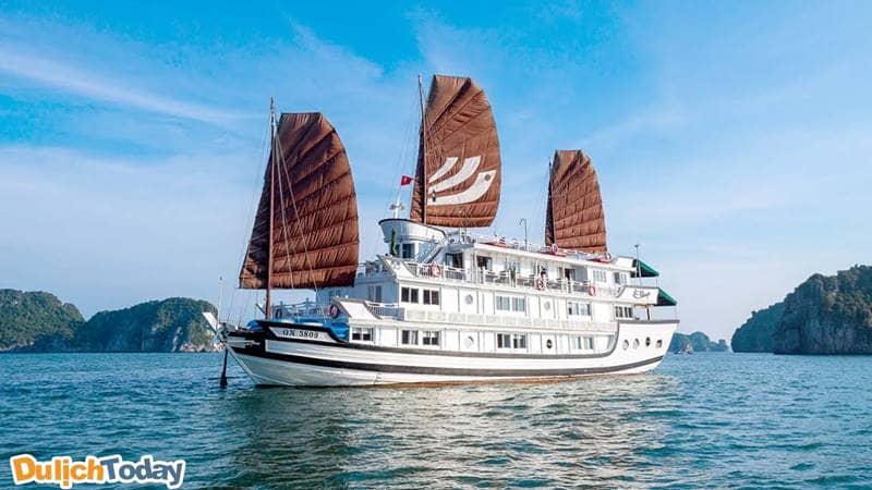 Halong Bhaya Cruise - du thuyền được du khách đánh giá cao nhất
