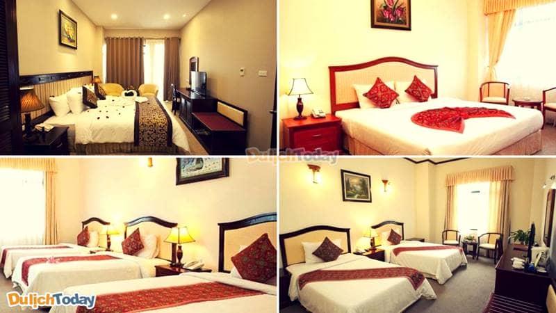 Phòng nghỉ tại khách sạn Asean