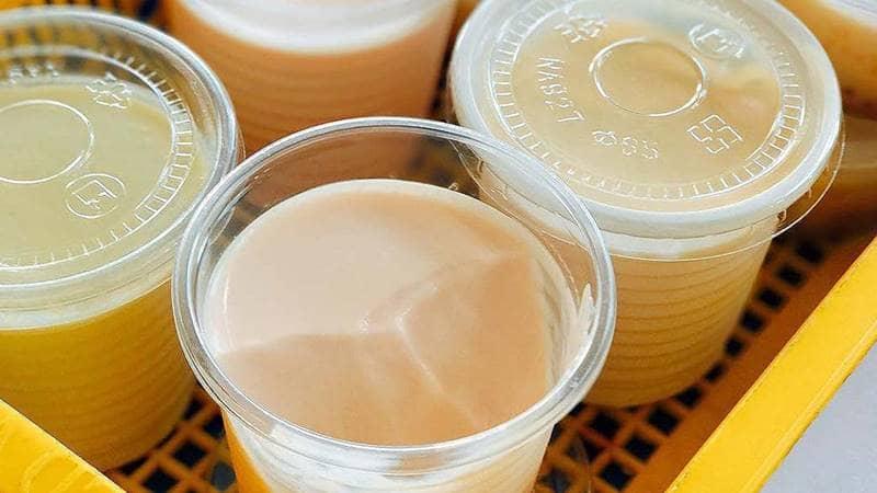 Sữa chua phô mai - Sự kết hợp hoàn hảo. Nguồn: Internet
