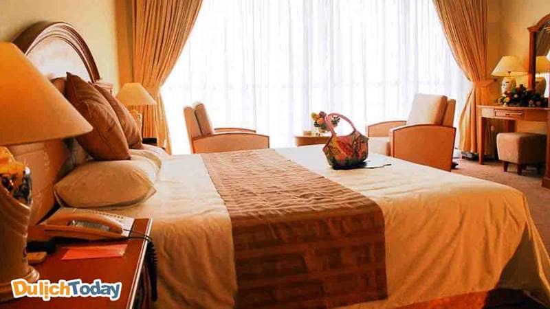 Phòng nghỉ trong khách sạn Atlantic Tuần Châu
