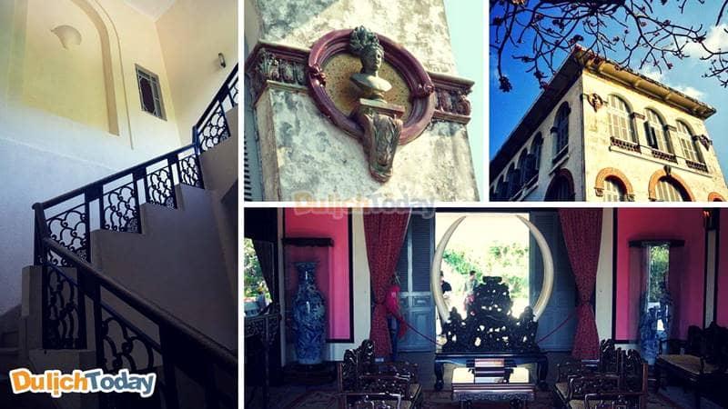 Bạch Dinh là điểm đến thu hút những ai yêu kiến trúc Pháp độcđáo