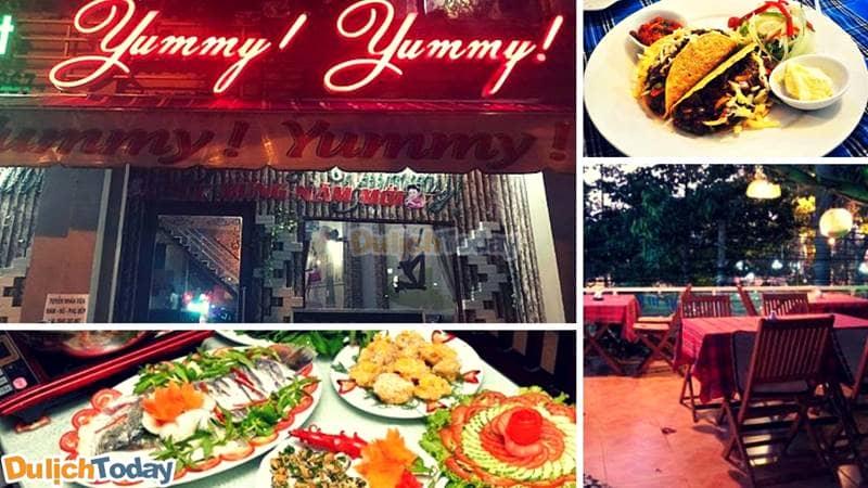 Nhà hàng Yummy Yummy - nhà hàng gần Bạch Dinh Vũng Tàu