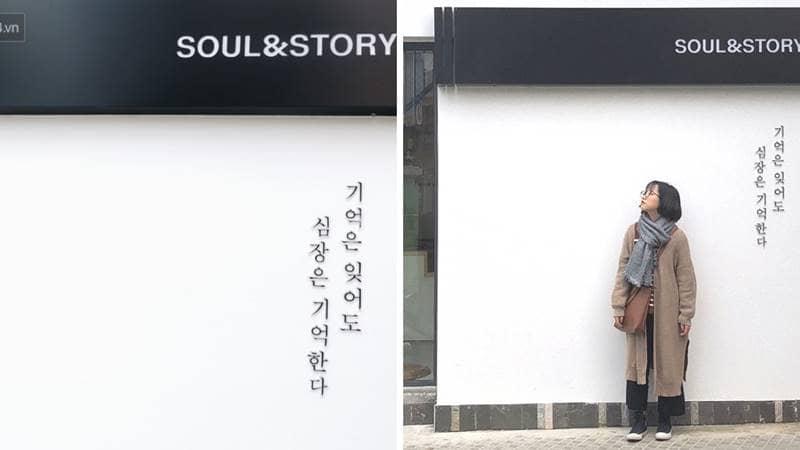 Bức tường Soul & Story tại đường Hải Thượng. Nguồn: Internet