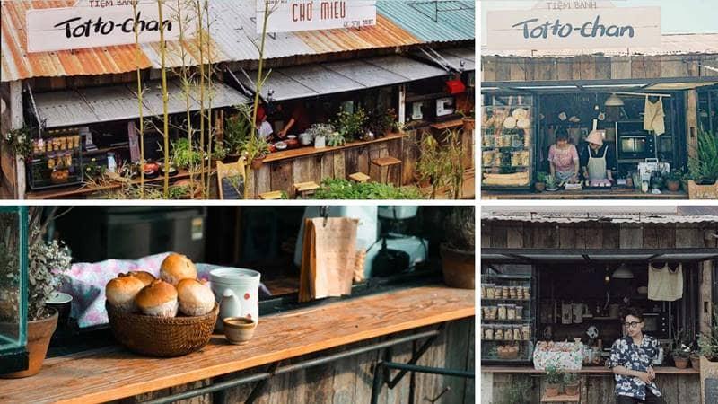 Tiệm bánh Totto-chan. Nguồn: Internet