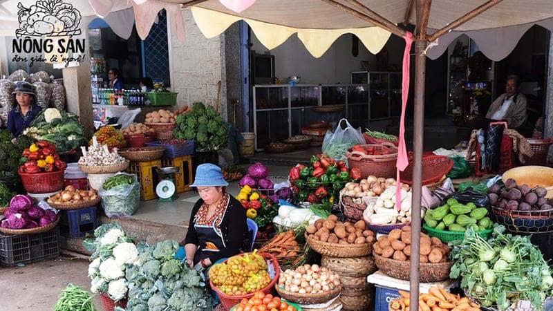 Ngoài ra còn có nhiều mặt hàng rau - củ - quả đa dạng khác. Nguồn: Internet