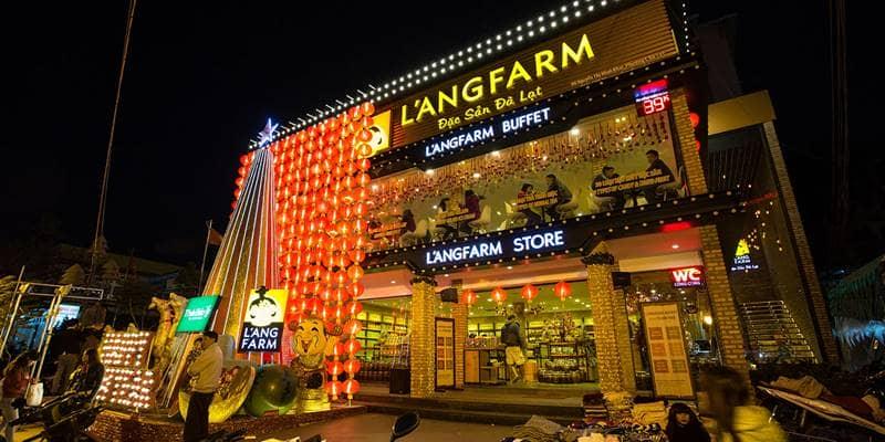 L'angFarm là chuỗi store lớn nhất cung cấp các món đặc sản Đà LẠt