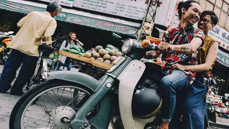 Thuê xe máy sẽ giúp bạn tham quan Đà Lạt chủ động hơn về thời gian