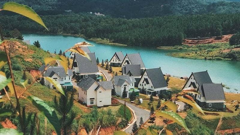Wonder Resort Đà Lạt hồ Tuyền Lâm. Nguồn: Internet