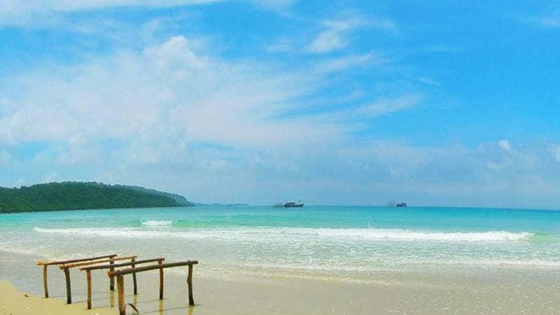 Biển Cô Tô trong xanh. Nguồn: Pinterest