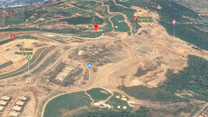 Quần thể khu nghỉ dưỡng 5 sao FLC Hạ Long trên đồi Văn Nghệ