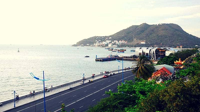 Đường Hạ Long - Con đường chạy dọc Bãi Dâu Vũng Tàu