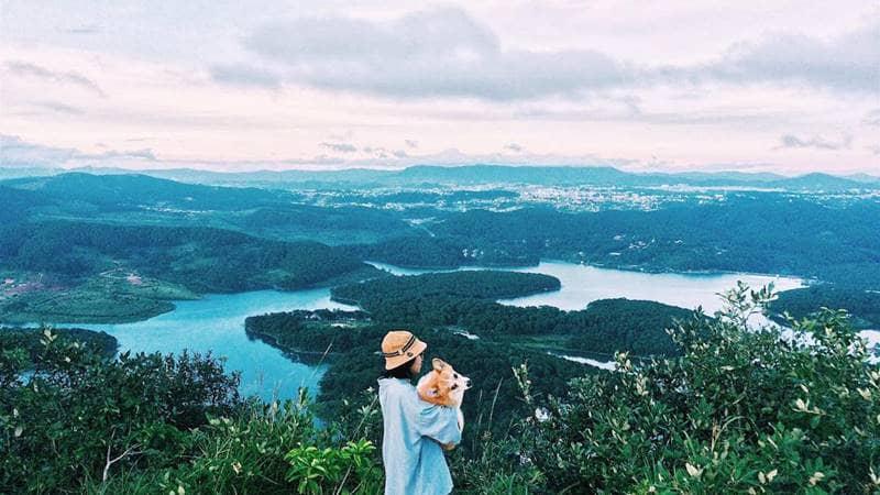 Cùng boss của bạn đến hồ Tuyền Lâm ngắm cảnh nhé