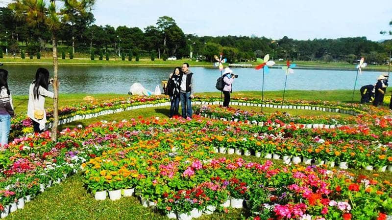 Các địa điểm tổ chức festival hoa Đà Lạt 2019