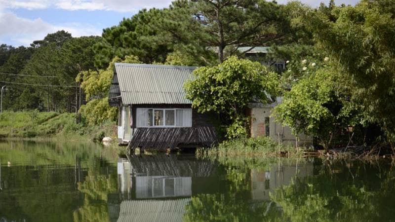 The Lake house - homestay Đà Lạt có view hướng hồ