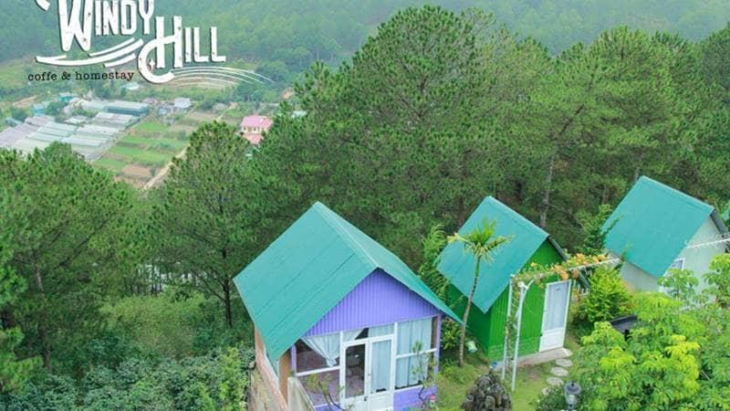Windy Hill là homestay nằm sát ngay đồi thông