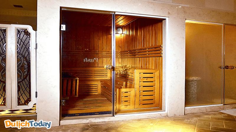 Phòng xông hơi tại Imperial romance spa