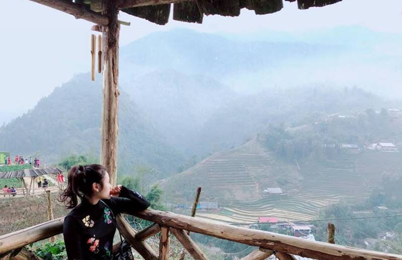 Ngắm nhìn thung lũng Mường Hoa từ Sapa Jade Hill resort