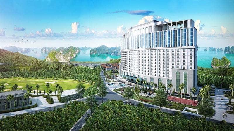 Phối cảnh khu khách sạn Condotel FLC Hạ Long. Nguồn: flchalongbay