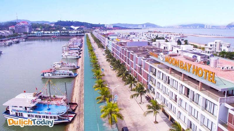 Moon Bay Hotel có 2 mặt tiền view đẹp