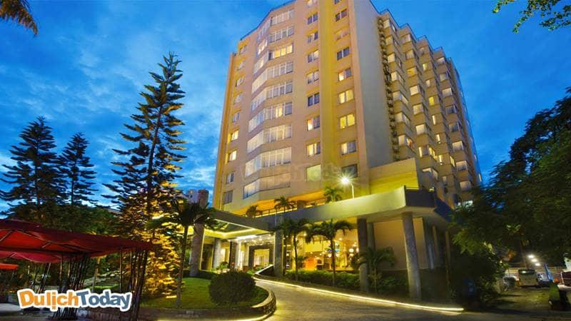 Khách sạn Ha Long Pearl với lối thiết kế hiện đại Á Đông