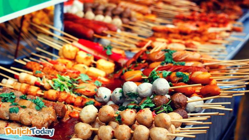 Đường ăn vặt Nguyễn Tri Phương Vũng Tàu