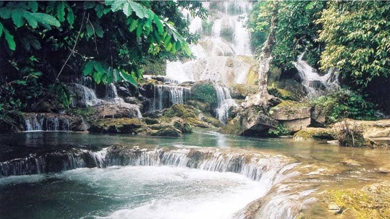 Khu du lịch Quảng Ninh Thác Mơ. Nguồn: Vietnamtourism.com