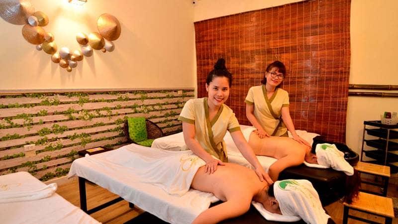 Trải nghiệm liệu trình massage toàn thân tại Lâm Kiều Spa