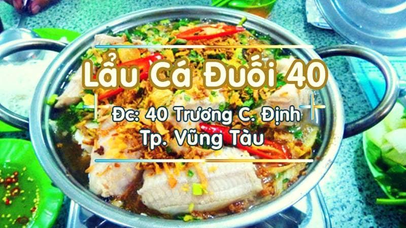 Ăn trưa tại số 40 đường Trương Công Định