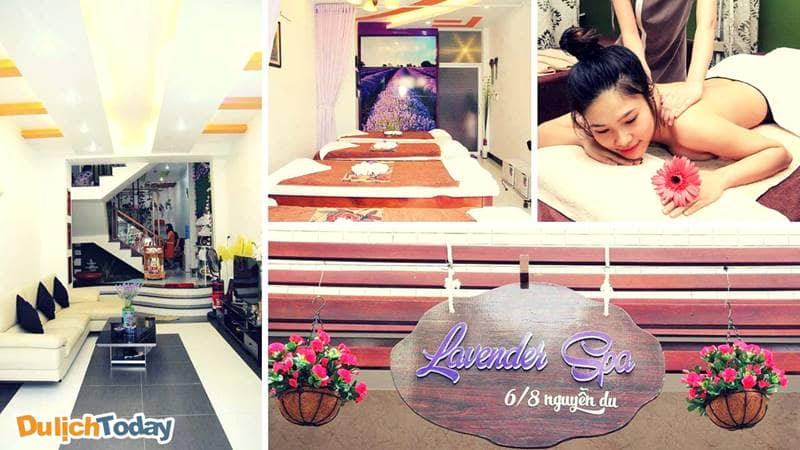 Lavender Spa Vũng Tàu - địa chỉ massage Vũng Tàu quen thuộc của phái đẹp