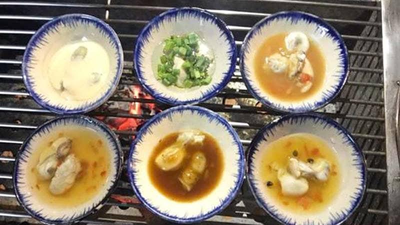Món hàu nướng chục vị ở Yến hải sản Đà Lạt. Nguồn: Internet
