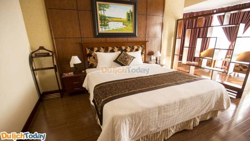 Phòng nghỉ tại Khách sạn Morning Star Hotel