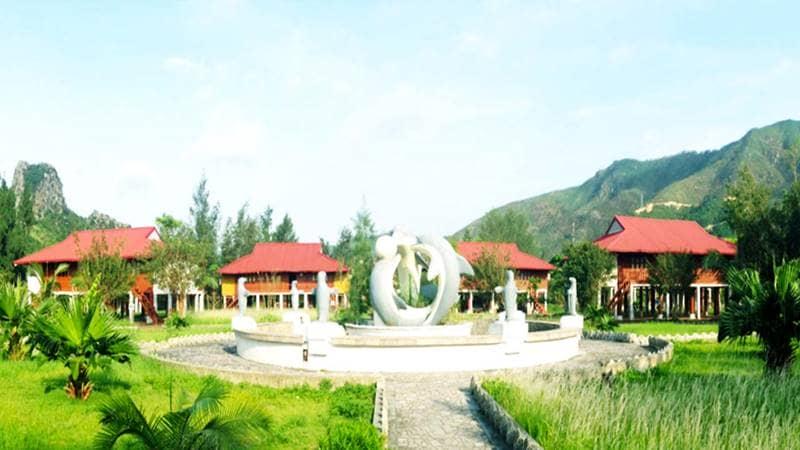 Việt Mỹ Vân Đồn Resort ở Quảng Ninh. Nguồn: Internet
