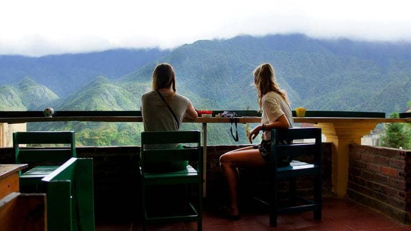Nhà nghỉ Go Sapa hấp dẫn du khách bởi điểm nhìn khung cảnh núi rừng tuyệt đẹp