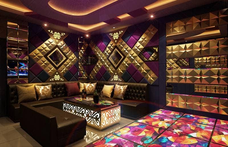 Phòng karaoke của Silk Path Grand Sapa