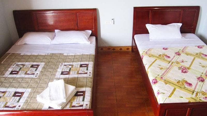 Phòng nghỉ tại Hùng Lâm Resort Quảng Ninh. Nguồn: Hotdeal