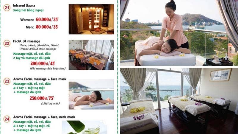 Các dịch vụ massage tại Princess Spa