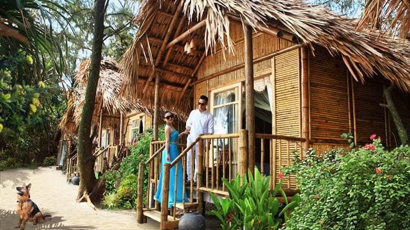 Khu phòng nghỉ dạng Bungallow tại Cô Tô Life - Mini Resort. Nguồn: Internet