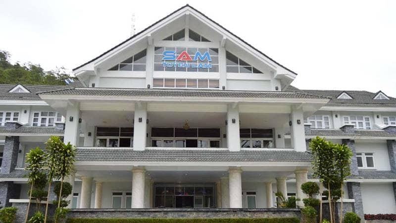 Khu nghỉ dưỡng Sam Tuyền Lâm Golf & Resort. Nguồn: Internet