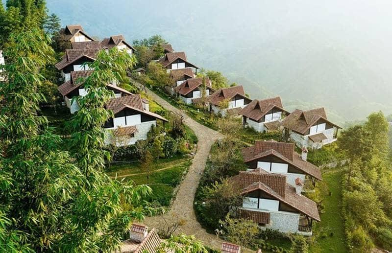 Sapa Jade Hill như một ngôi làng cổ ở Châu Âu