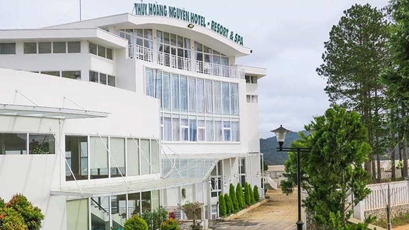 Phía ngoài Thủy Hoàng Nguyên Resort & Spa. Nguồn: Internet