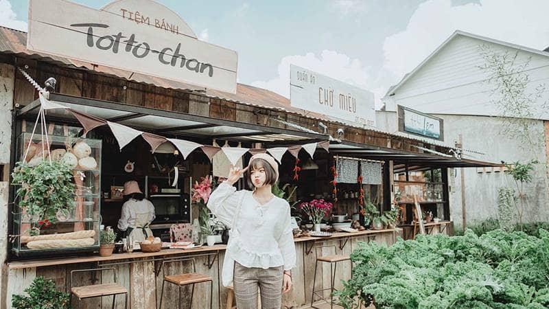 Tiệm bánh là một trong những địa điểm tham quan mới ở Đà Lạt cực chất khi lên ảnh. Nguồn: Internet