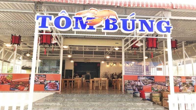 Quán Tôm Búng - Vựa hải sản Đà Lạt. Nguồn: Foody