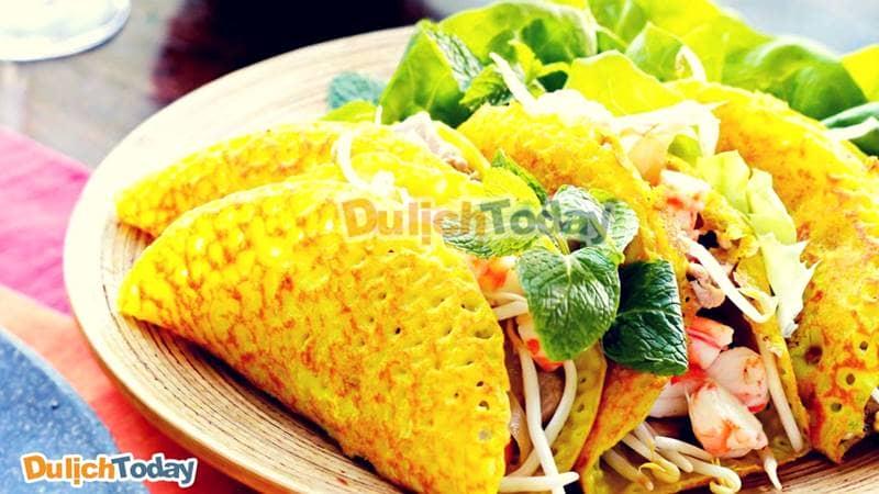Bánh Xèo Long Hải – món ăn vặt nức danh miền biển