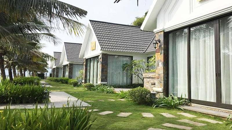 Tuấn Mai Resort Quảng Ninh với những phòng dạng villa nhỏ xinh. Nguồn: Tuấn Mai Resort