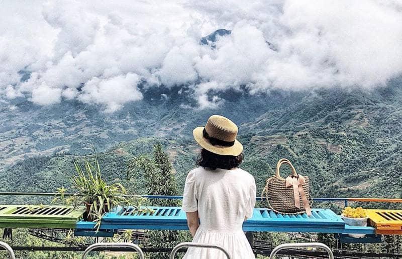 Nhìn ngắm Hoàng Liên Sơn từ Viettrekking homestay ©ynhi_dao