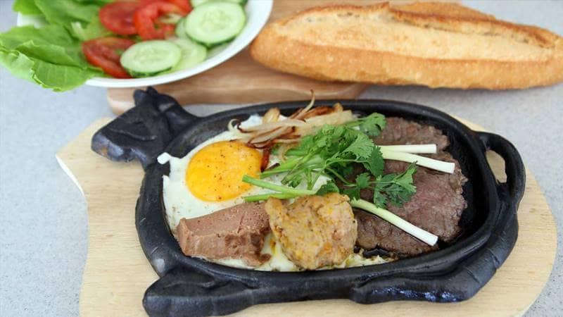 Bò né 3 ngon cho bữa trưa Đà Lạt : ngon mắt, ngon mũi, ngon miệng