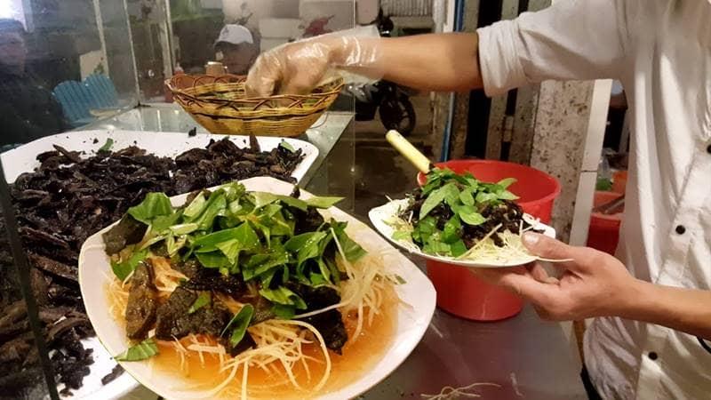 Xắp xắp Đà Lạt là món ăn vặt đường phố ở Đà Lạt. Nguồn: Internet