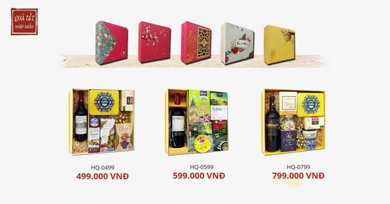 Các mẫu hộp quà sang trọng - ý nghĩa tại Quà Tết Nhập Khẩu
